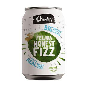 Charlie's Honest Fizz Feijoa 12 Pack 320ml 12 Pack