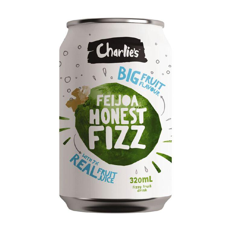 Charlie's Honest Fizz Feijoa 12 Pack 320ml 12 Pack, , hi-res