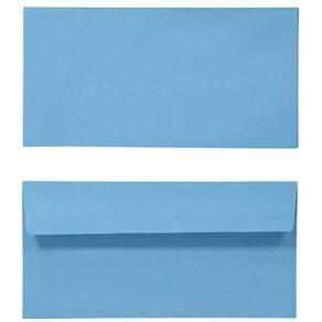 Create With DL Envelope 25 Pack Blue