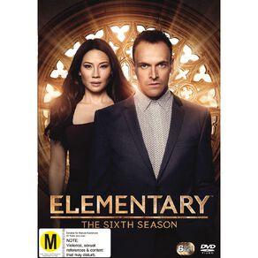 Elementary Season 6 DVD 4Disc