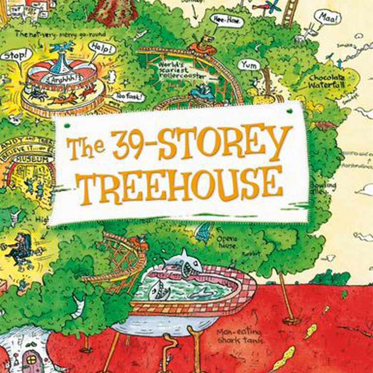 The 39 Storey Treehouse by Andy Griffiths & Terry Denton, , hi-res