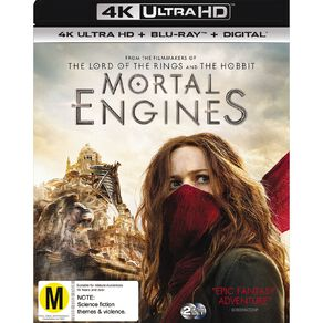 Mortal Engines 4K Blu-ray 2Disc
