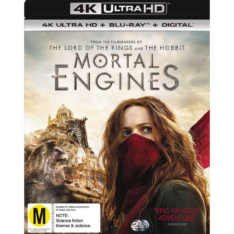Mortal Engines 4K Blu-ray 2Disc, , hi-res