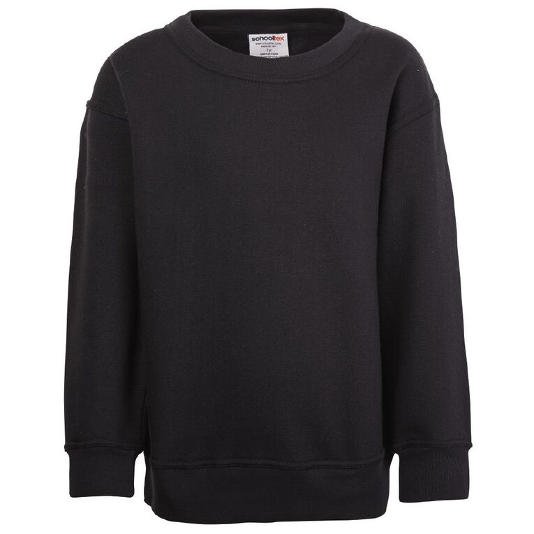 Schooltex Kids' Sweatshirt, Black, hi-res