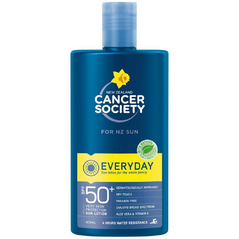 Cancer Society Sunscreen SPF 50+ Lotion 400ml, , hi-res