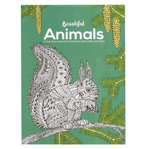 Beautiful Animals Colouring Book