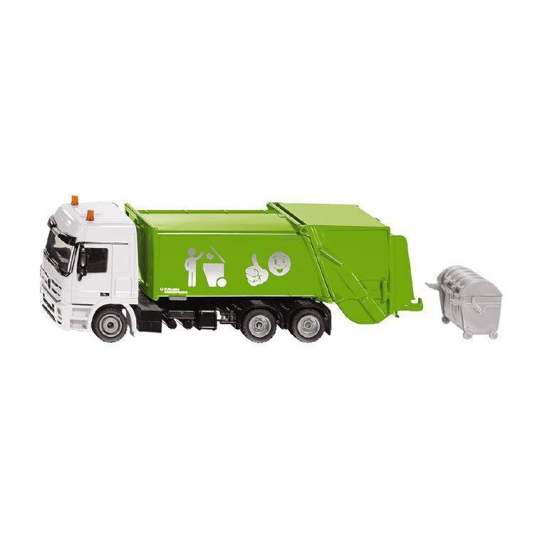 Siku 1:50 Mercedes Rubbish Truck with Skip, , hi-res