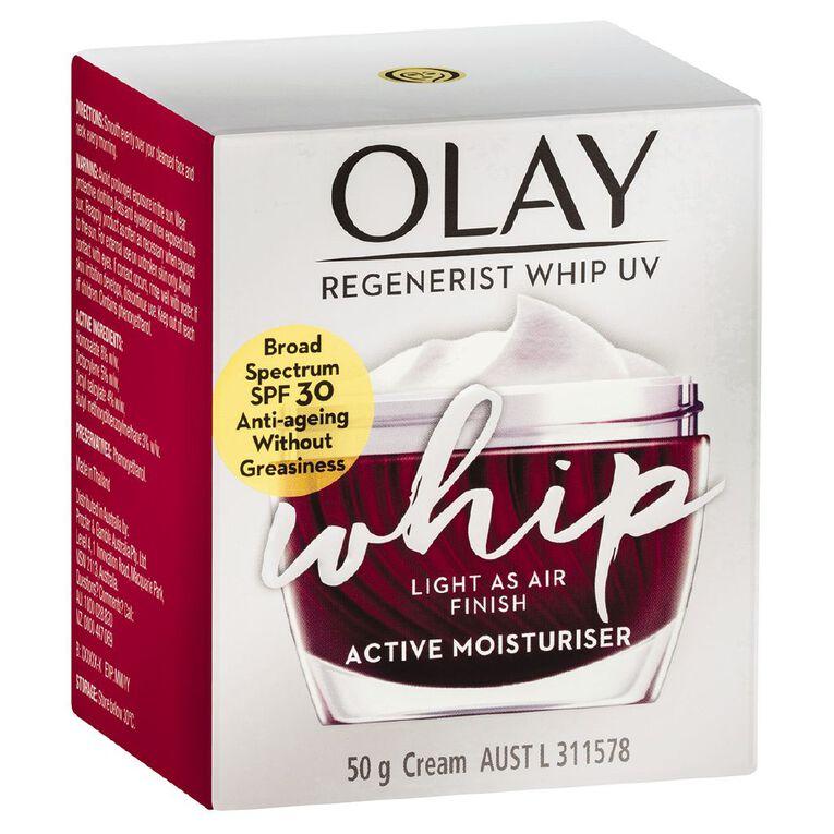 Olay Regenerist Whip Moisturiser Creme SPF30 50g, , hi-res