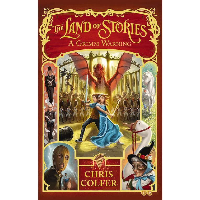 Land of Stories #3 Grimm Warning by Chris Colfer, , hi-res
