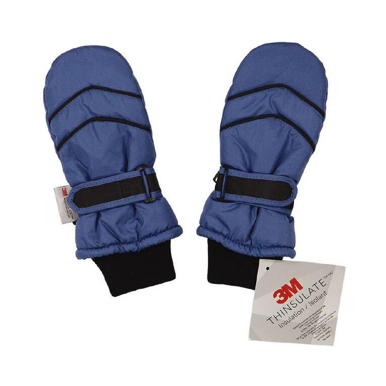 Young Original Kids' Ski Mitten Gloves, Blue, hi-res