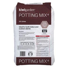Kiwi Garden Potting Mix Plus 30L