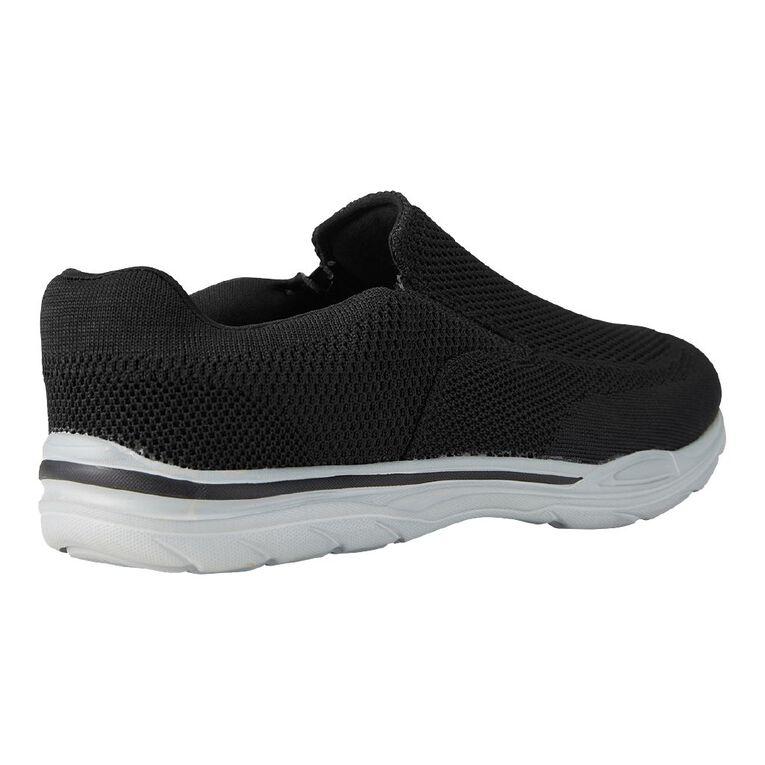 H&H Favre Wide Fit Shoes, Black, hi-res