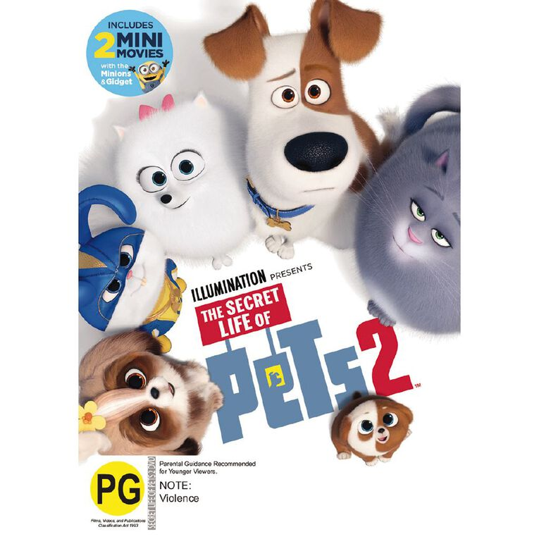 The Secret Life Of Pets 2 DVD 1Disc, , hi-res image number null