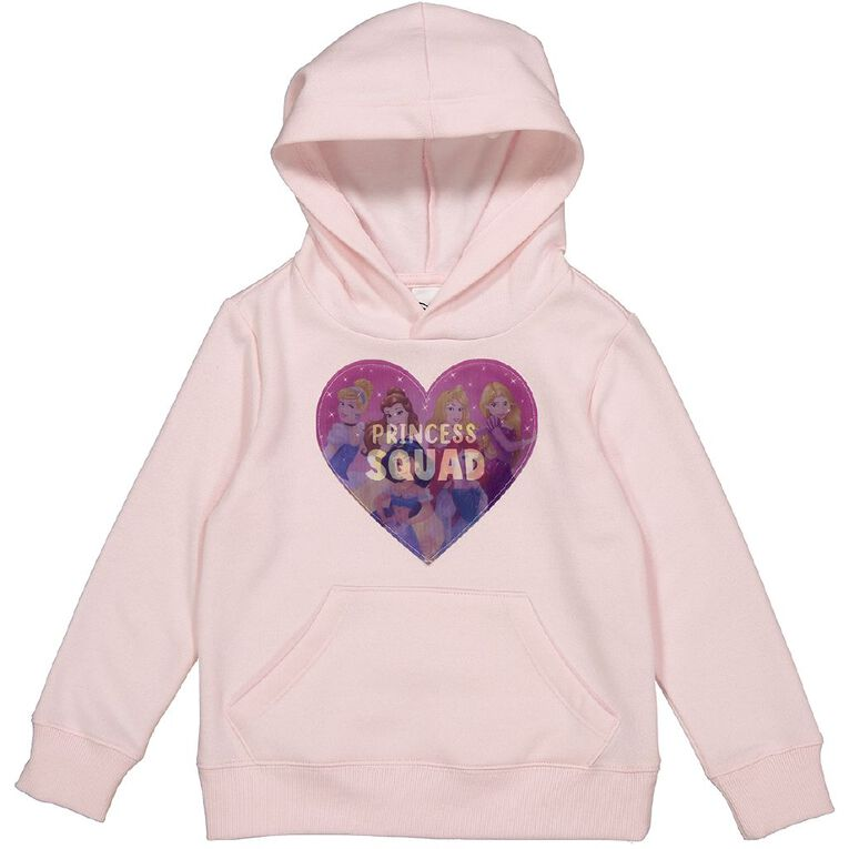 Princess Disney Pullover Crew Lenticular Print Sweatshirt, Pink Light, hi-res