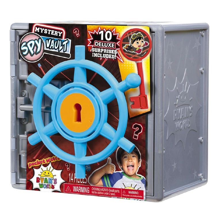 Ryan's World Mystery Spy Vault, , hi-res image number null