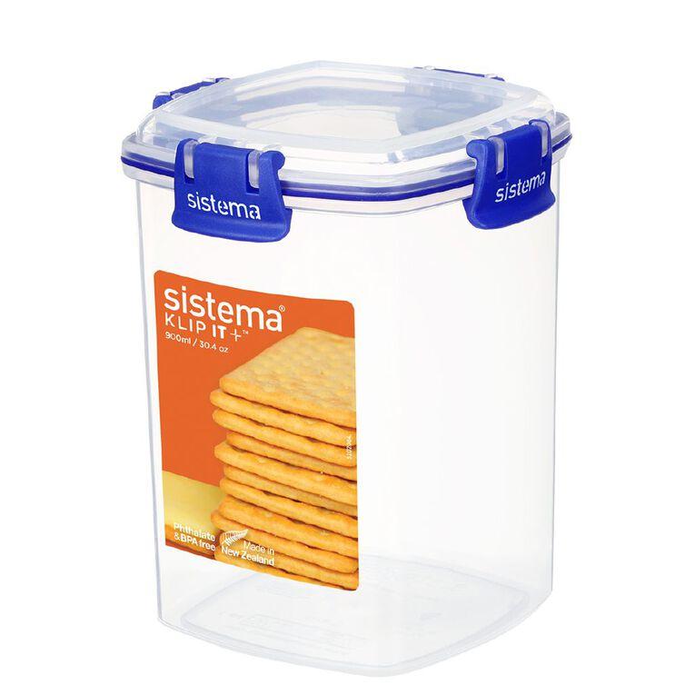 Sistema Klip It Plus Cracker Container Assorted 900ml, , hi-res image number null