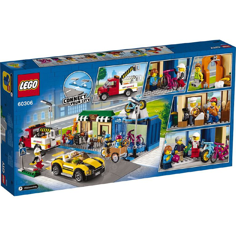 LEGO City Shopping Street 60306, , hi-res