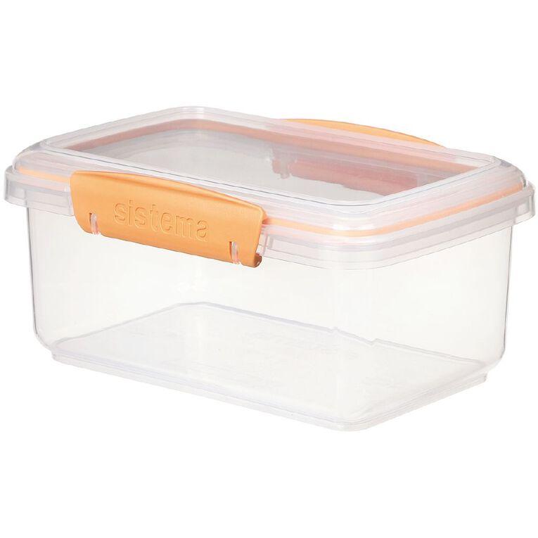 Sistema Klip it Rectangular Container Jewel Tone Assorted 1L, , hi-res
