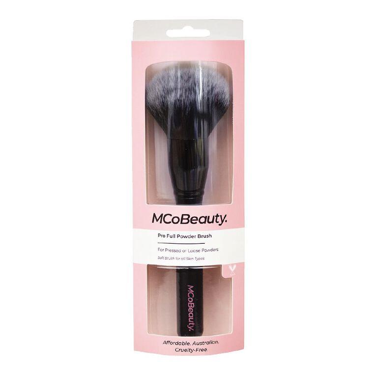 MCoBeauty Pro Full Powder Brush, , hi-res