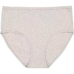 H&H Women's Cotton Comfort Full Briefs