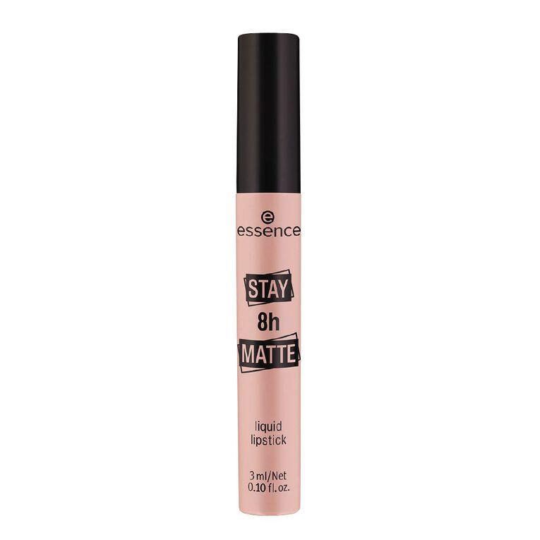 Essence Stay 8H Matte Liquid Lipstick 01, , hi-res