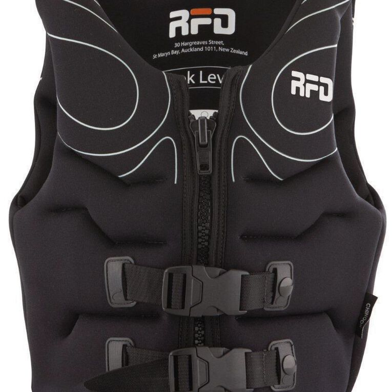 RFD Chinook Buoyancy Vest Adult Black Small, Black, hi-res