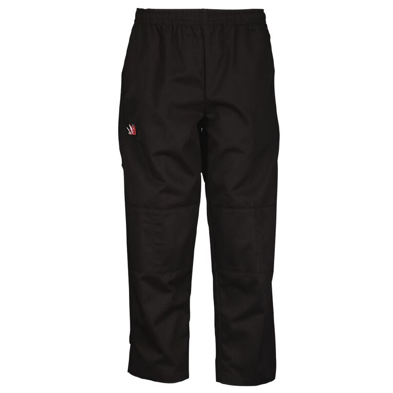 Schooltex Marshland Double Knee Pants with Embroidery, Black, hi-res