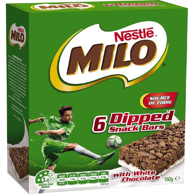 Milo Snack Bar with Milk 27g, , hi-res
