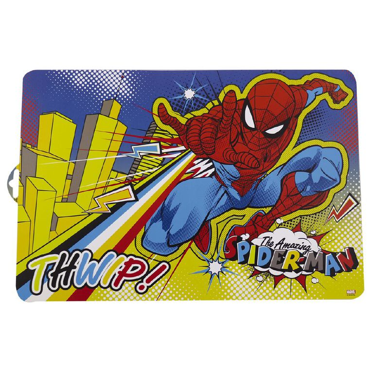 Spider-Man Placemat 30cm x 45cm, , hi-res