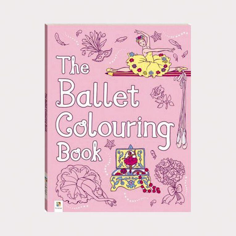 The Ballet Colouring Book by Michael O'Mara, , hi-res