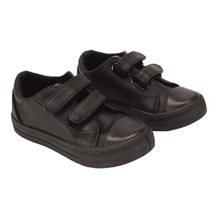 Young Original Kids' Casual Double Strap Shoes, Black, hi-res