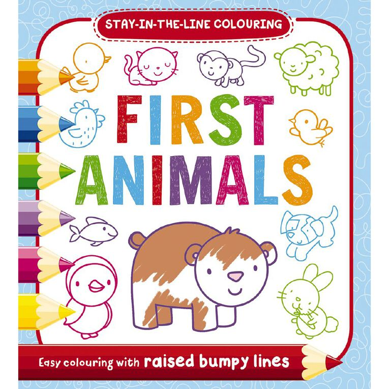 Bumpy Colouring: Animals, , hi-res