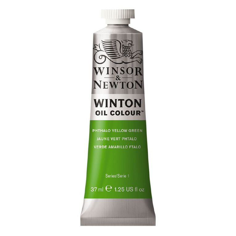 Winsor & Newton Winton Oil Phthalo Yellow Green 37ml, , hi-res
