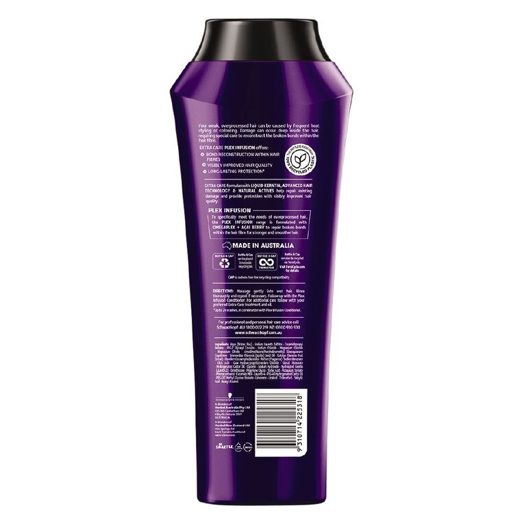 Schwarzkopf Extra Care Plex Infusion Shampoo 400ml, , hi-res