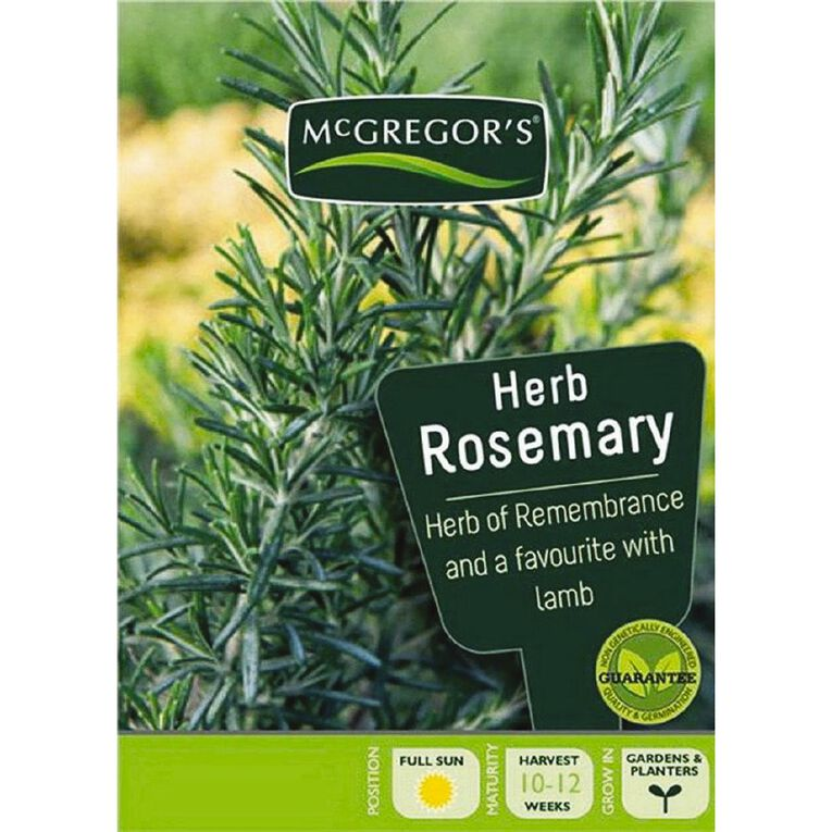 McGregor's Herb Rosemary Seed, , hi-res