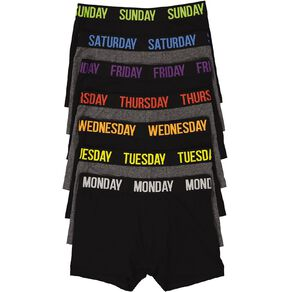 H&H Weekday Trunks 7 Pack