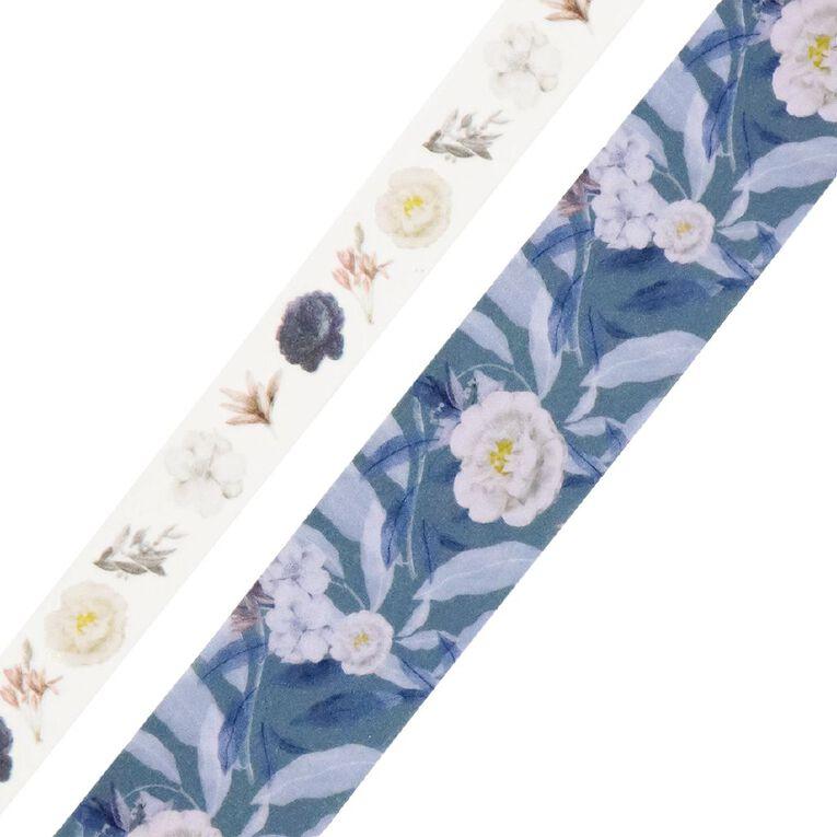 Uniti Morning Blossom  Washi Tape 2 Pack Design 2, , hi-res