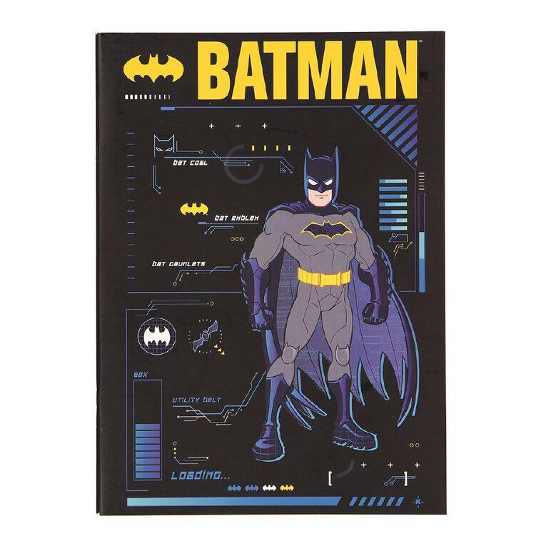 Batman Warner Bros Batman Scrapbook Blue Dark A3, , hi-res