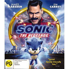 Sonic The Hedgehog Blu-ray 1Disc