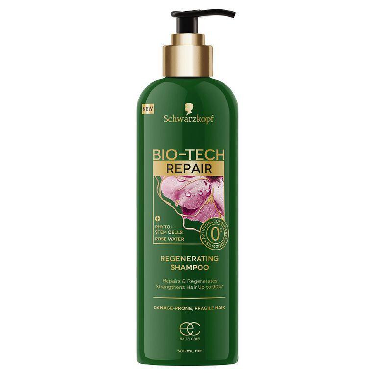 Schwarzkopf Extra Care Bio-Tech Repair Shampoo 500ml, , hi-res
