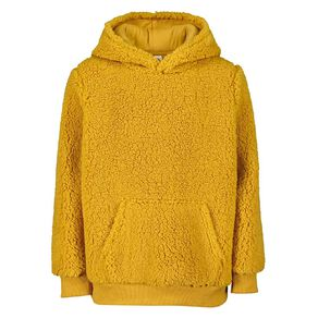 Young Original Sherpa Pull Over Hooded Sweatshirt