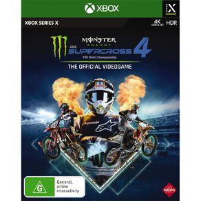 XboxOne Monster Energy Supercross 4