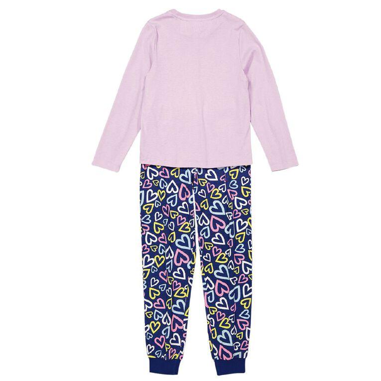 My Little Pony Kids' Long Sleeve Knit Pyjamas, Lilac, hi-res