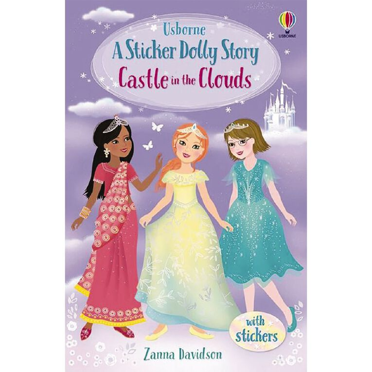 Sticker Dolly Stories #5 Castle in the Clouds by Zanna Davidson, , hi-res