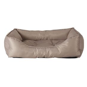 Petzone Rectangle Bed Brown Small with Recycled Content