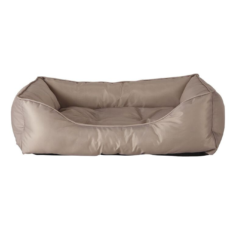 Petzone Rectangle Bed Brown Small with Recycled Content, , hi-res
