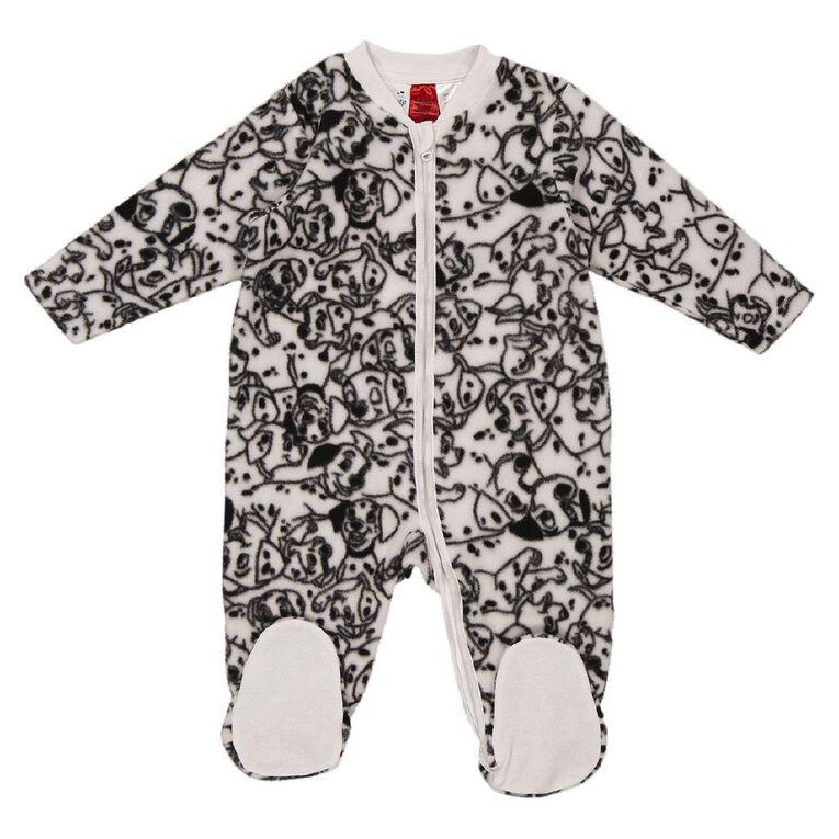 101 Dalmatians Microfleece Coverall, White, hi-res