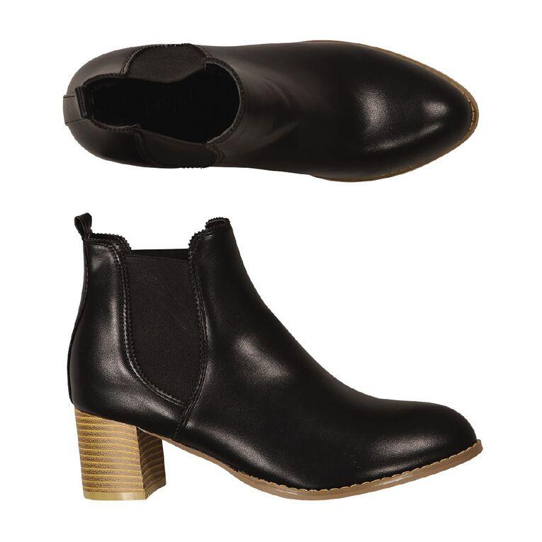 H&H Ankle Chelsea Boots, Black, hi-res