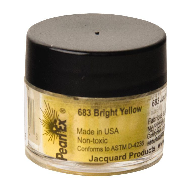 Jacquard Pearl Ex 3g Bright Yellow, , hi-res