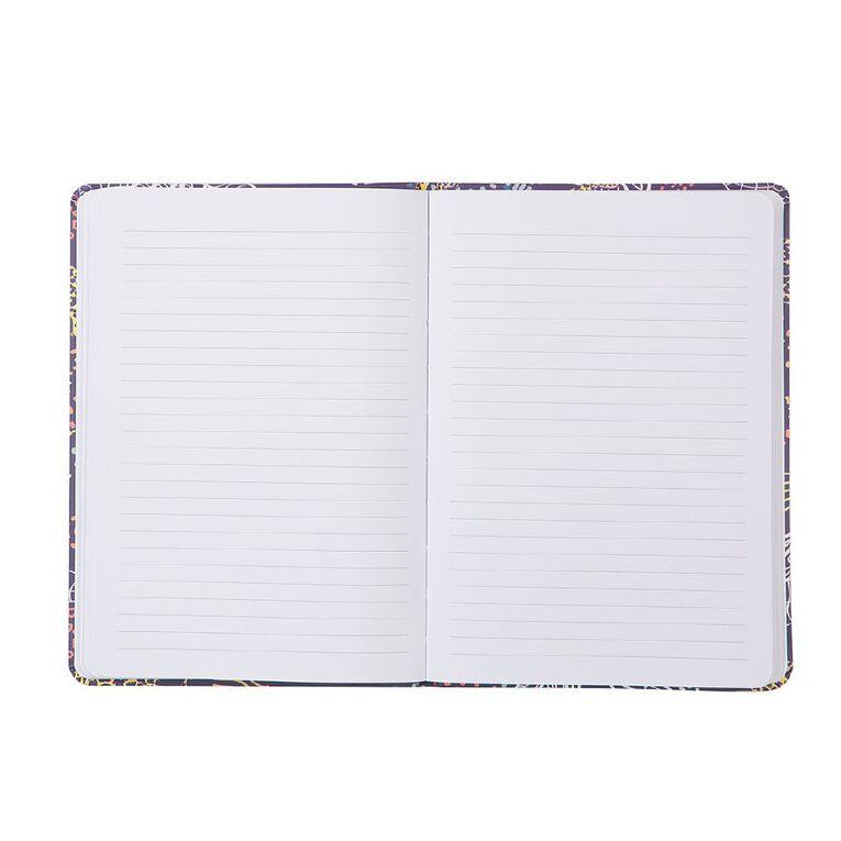 Uniti Fun & Funky Q4 PU Hardcover Notebook Leopard Print A5, , hi-res